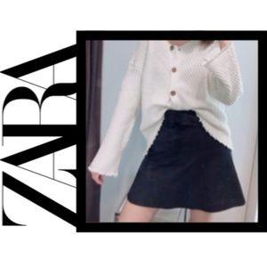 Zara Knit Cardigan w/ Wooden Buttons